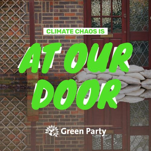Climate change is at our door